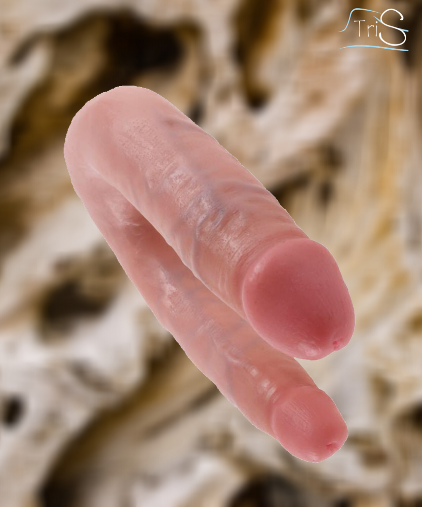 Consolador doble para anal y vaginal