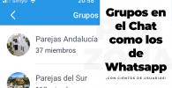Grupos de parejas liberales en el chat de TriSapp